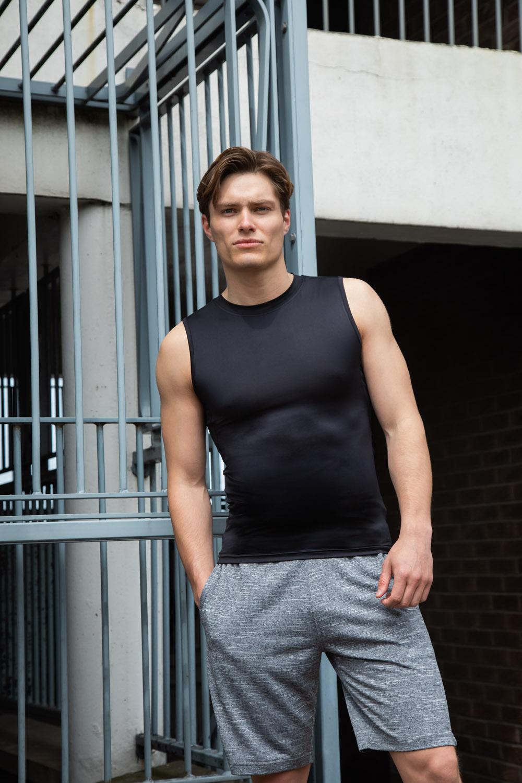 Herren Sleeveless T-ShirtTombo